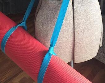Yoga Mat Strap - Blue