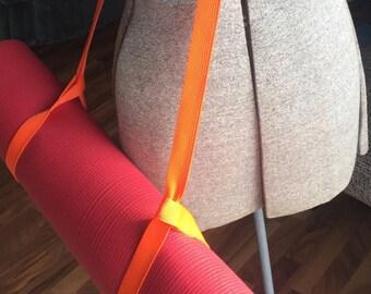 Yoga Mat Strap - Orange