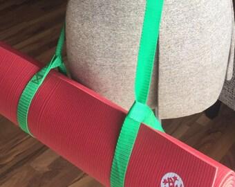 Yoga Mat Strap - Green