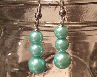 Handmade Droplet Earrings