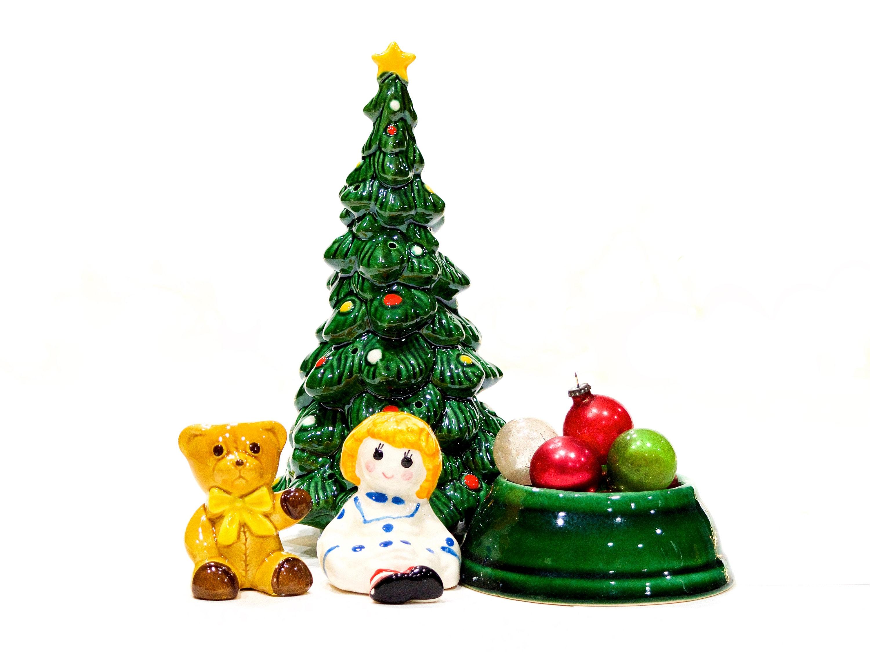 AVON HOLIDAY FELT HOLDER FOR MINIS  ~~also ornament