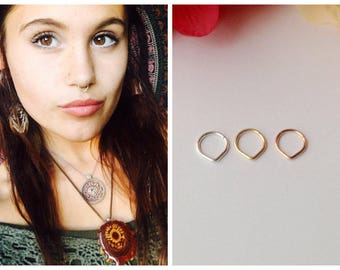 Nose Rings Studs Etsy