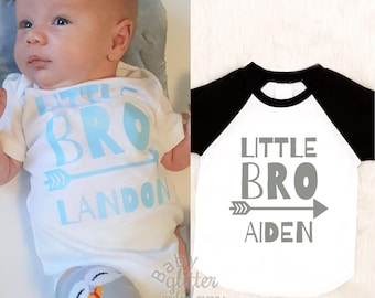 Little Brother Shirt, Little Brother Outfit, Baby Brother Shirt, Boy Home Coming Outfit, Boy Hospital Outfit, Boy Personalized Shirt