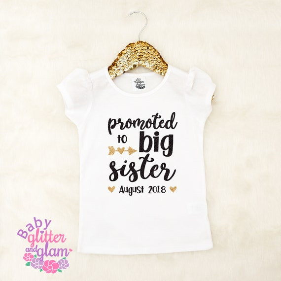 Big Sister Shirt Pregnancy Announcement Shirt Big Sister Etsy