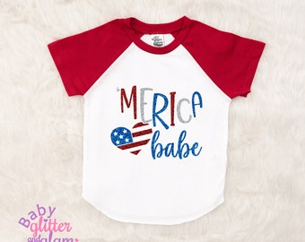 Girl Fourth of July Shirt, 4th of July Shirt, Girl 4th of July, 'Merica, Miss Fireworks, Little Miss America, All American Girl, Merica Babe