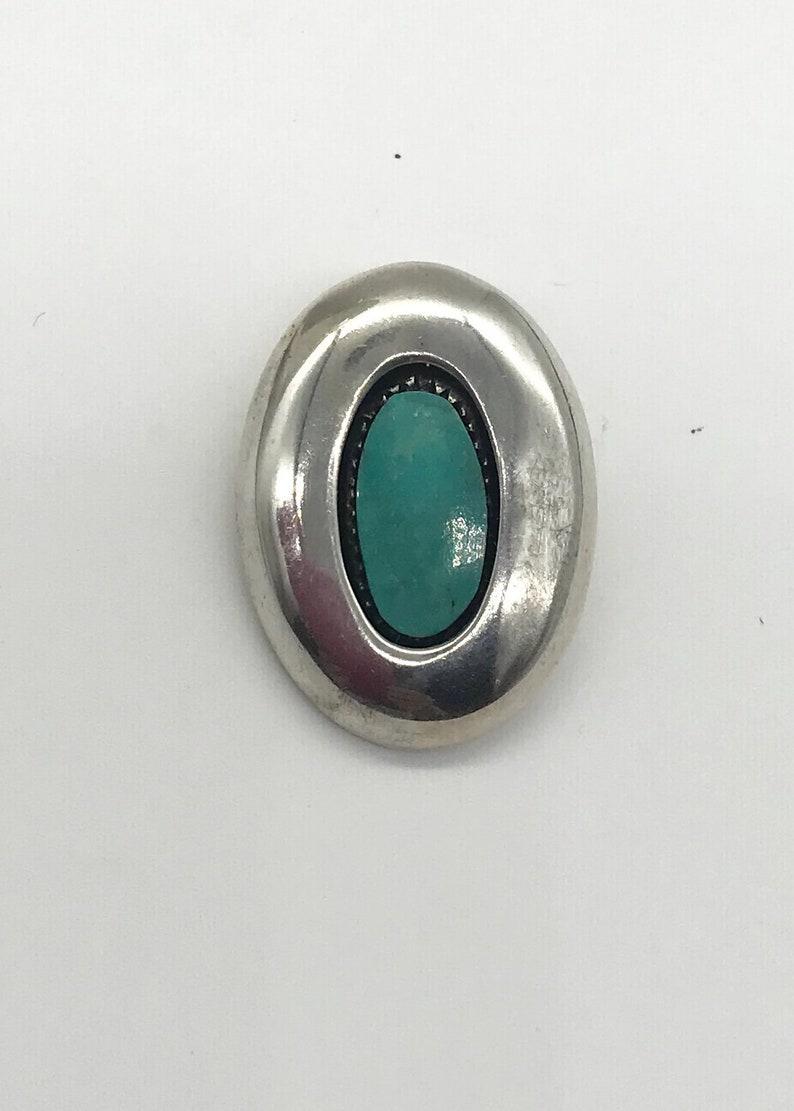Vintage Silver Jewelry Turquoise Jewelry Vintage Pendant Vintage Turquoise Silver Pendant Vintage Gemstone Jewelry