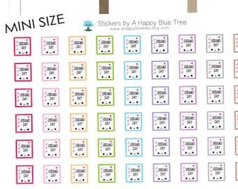 MINI Happy Errand Day Reminder Tracker Cute Kawaii Planner Stickers for Erin Condren Life Midori Mambi Kikkik Personal Funny Chores Shop