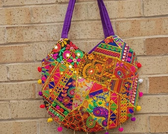 Guatemalan hobo embroidered huipil bag U bag ethnic bohemian bags assorted