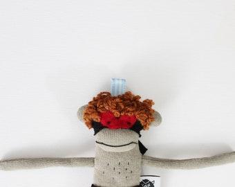 Wrestler Plush, Handmade Mini Wrestler doll Friend, Mini Wrestler  TOY Plush, Stuffed Toy, Stuffed Wrestler Toy, Monkey Miniature doll
