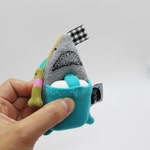 Shark Soft Knit AirPods Case, Shark AirPods Holder, AirPods Pouch, Shark Keychain, Shark Pouch plush, Shark Earbuds case