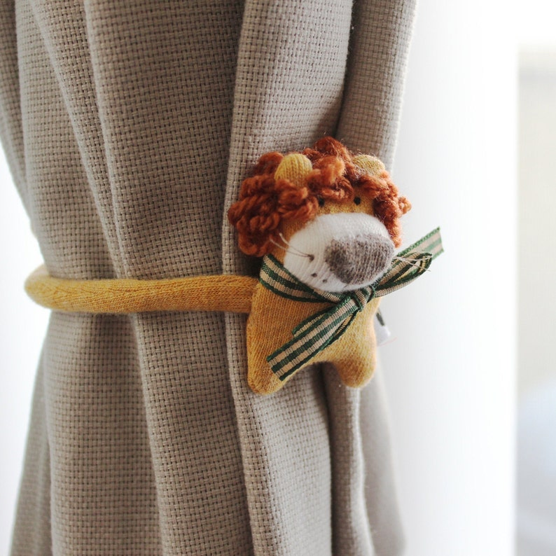 Soft Knit Earbuds organizer Lion Cord organizer travel Cord image 0