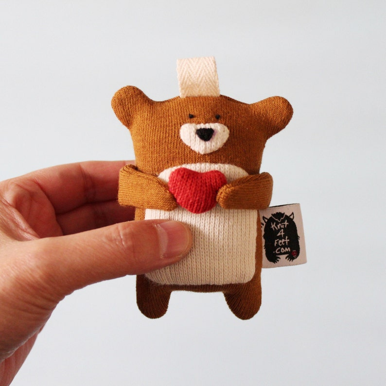 Valentine's Day Bear AirPods case Bear Earbuds Case image 0