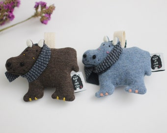 Hippopotamus Soft Knit AirPods Pro, Hippo AirPods Pro Holder, Hippo Keychain, Hippo Home decor, Wireless Earbuds Case