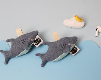 AirPods Pro Case, AirPods Pro Holder, AirPods Pro Cover, FISH ARE FRIENDS Shark Holiday decor, AirPods Pro Wireless Earbuds