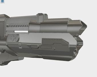 Captain Cold's Cold Gun 3D print kit