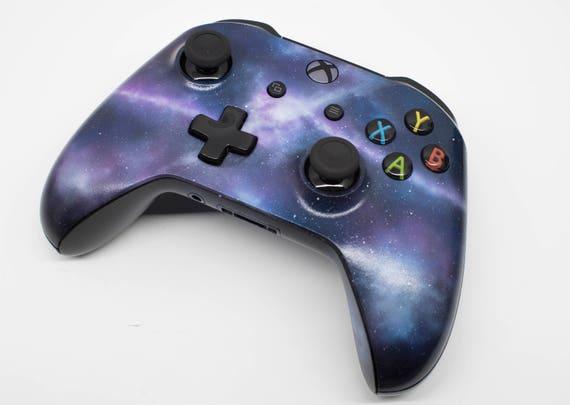 Galaxy Theme Xbox One Controller Custom Painted Etsy