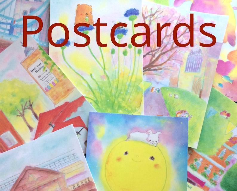 Art Postcard sets 48 designs  Designs by Erina  choose your image 0