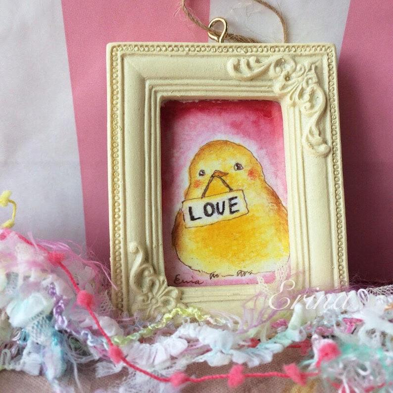 Love Messenger ラブメッセンジャー  Little bird with love sign  image 0