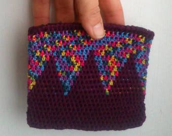 CROCHET Cotton BOHO purse