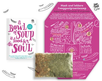 Soup for the Soul (soep per post!)