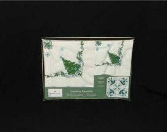 Hallmark Luncheon Ensemble Sealed Napkins Coasters