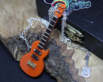 SALE! Amazing Dolls House, Miniature Guitar, with real strings *Super Unique*