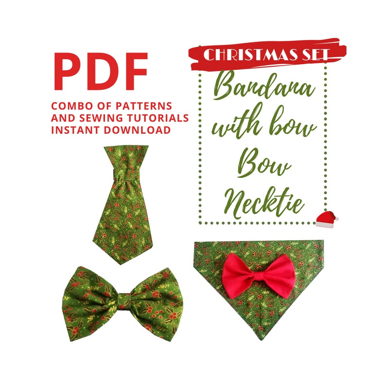 Christmas Sewing Patterns Bundle/ Sewing Tutorials and image 0