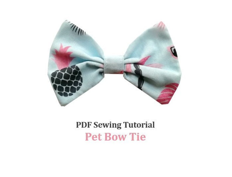 Pet Bow Tie Tutorial and PATTERNS/ Dog Bow Tie / Cat Bow / image 0