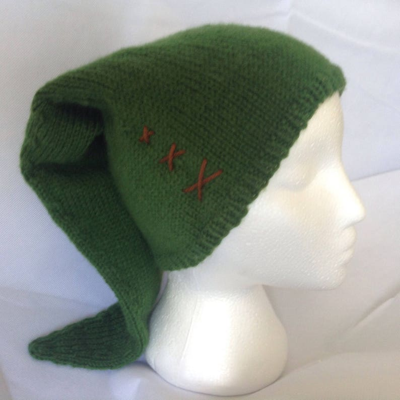 282728d0620 Link s Hat Legend of Zelda Knit Link Costume Hat