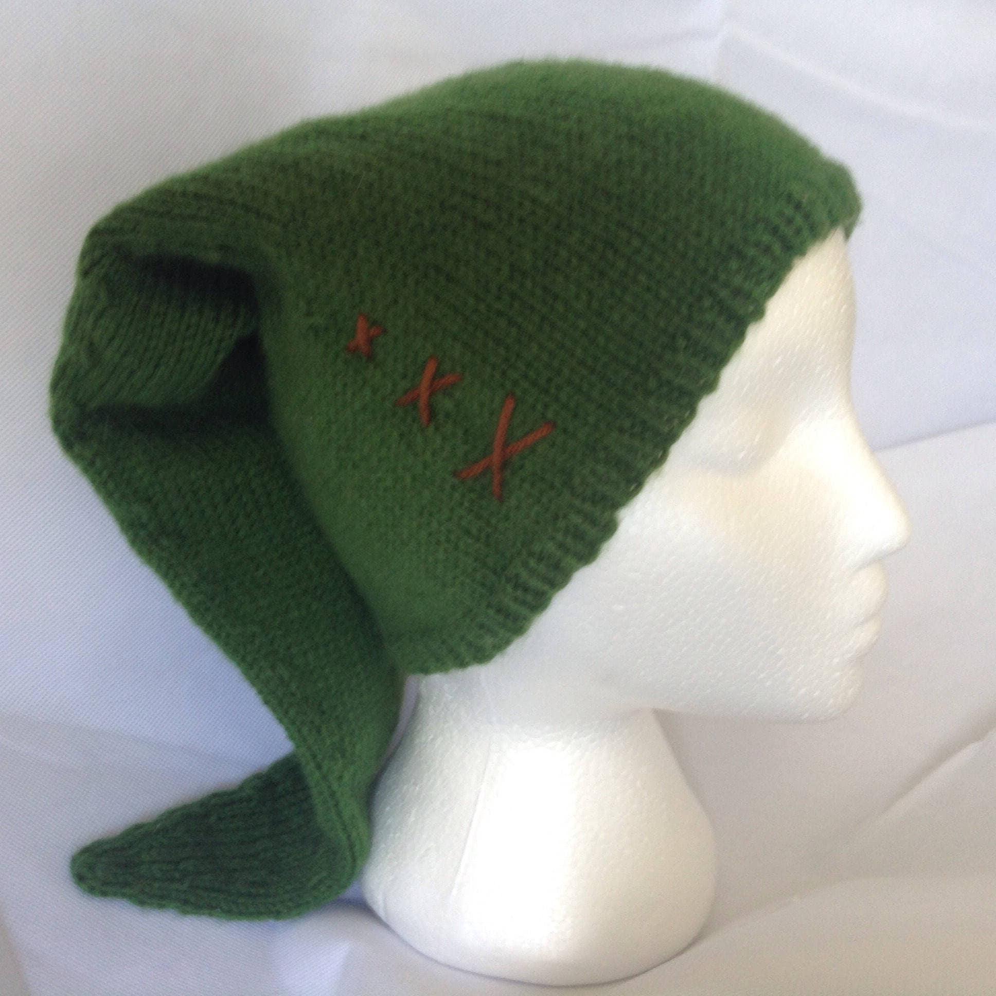 Link\'s Hat Legend of Zelda Knit Link Costume Hat