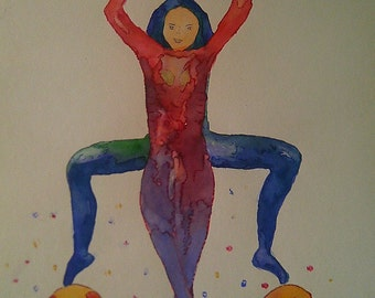 Watercolor body agreement number 13