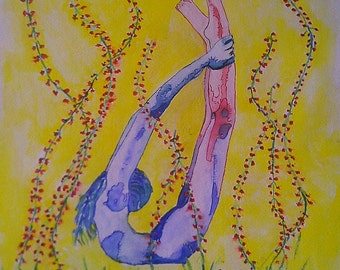 Watercolor body agreement number 7