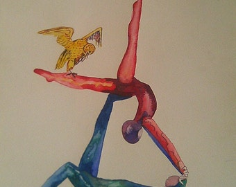 Watercolor body agreement number 4