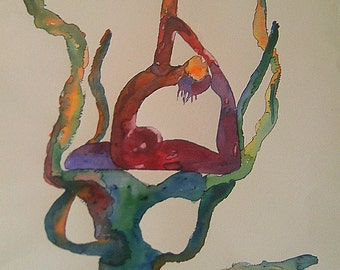 Watercolor body agreement number 8