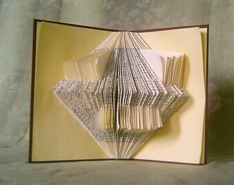 Origami folded book