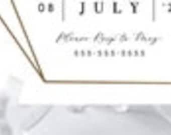 90th Birthday Party Invitation INSTANT DOWNLOAD Gold Editable Text Elegant Invite Modern Invitations 50th Template