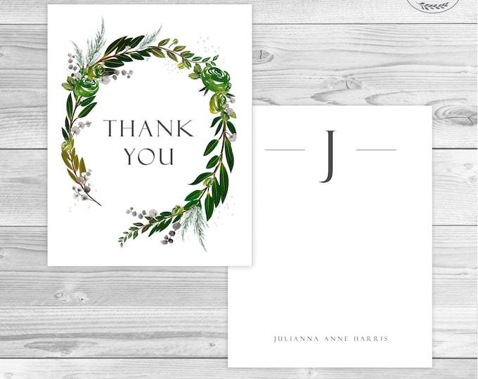 THANK YOU CARDS WEDDINg Thank you cards Baby Shower Thank You Card Set Thank You Cards Bridal Shower Thank You Card Business Contemporary