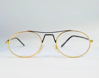 e20d044708d ALBERTA FERRETTI - made in Italy - 80 glasses - eyewear - women glasses -  men glasses - oval glasses - vintage frame - top bar