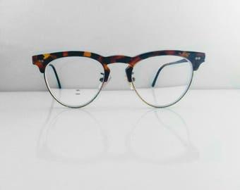 8a53890e150 POLICE - cat eye glasses - 50s style - clubmaster glasses - vintage women s  eyeglasses - cateye frame - tortoise shell frame - eyewear