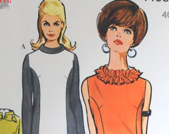 Sewing Pattern Dresses - Vintage Retro 1960s Original Sewing Pattern - STIL - Size 40