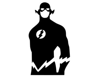 The Flash | Flash Silhouette | Flash Decal Laptop | Window Decal | Jeep Decal | The Flash Sticker | Flash | Barry Allen