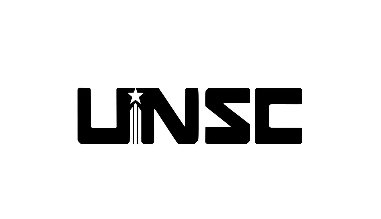 Unsc Simple Halo Vinyl Decal Halo Decal Master Chief Etsy