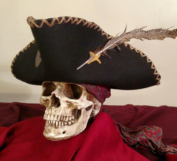 Freebooter Pirate Captain Hat | Etsy