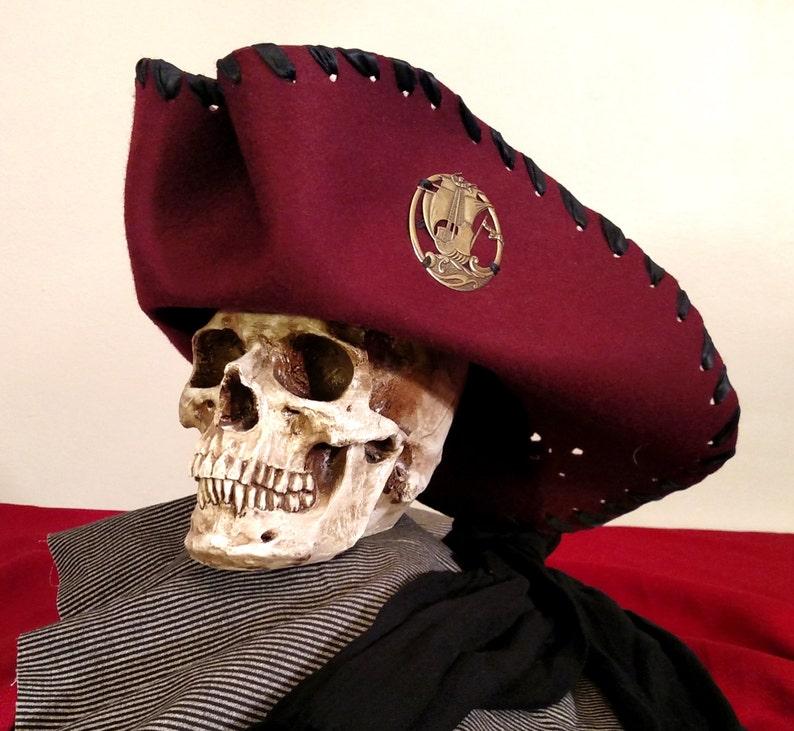d6c3cabb619 Buccaneer Pirate Captain Hat