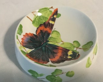 Mikasa Bone China*Two-Sided Concave Floral Design*Michael Lax 6 Art Deco Vase*Made in Japan