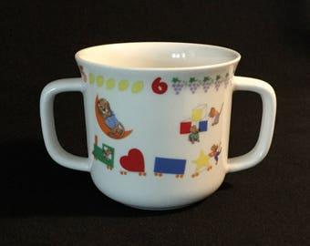 Vintage Lenox Teachers Pet Two Handled Mug