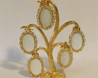 Vintage Mirella Golden Photo Tree