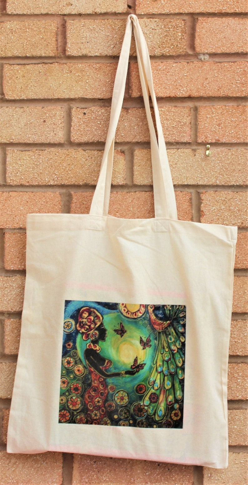 Coton Tote Bag African