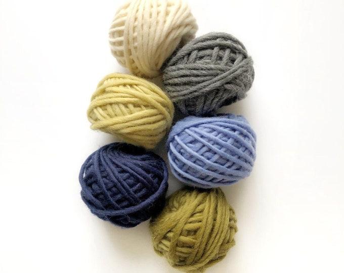 Punch needle yarn pack