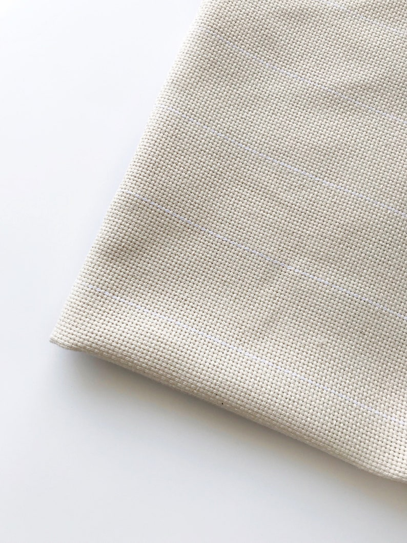PREORDER  Monk's cloth 2 x 2 grid in cotton / Oxford image 0